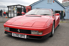 Brooklands Italia day 2013 - Ferrari Testarossa (jamesst1968) Tags: italia ferrari lamborghini brooklands italiaday