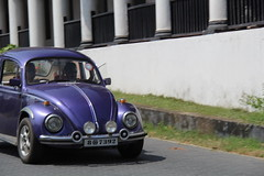 Volkswagen beetle (Tigerpavel) Tags: old car purple little beetle srilanka