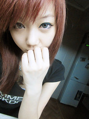 leechinhwa (30) (LEECHINHWA l skyler) Tags: red cute girl beautiful hair sweet russia korea korean lee kawaii uzbekistan chin skyler hwa pika lenses takumi ulzzang uljjang ohljjang leechinhwa
