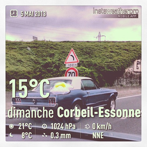 Mustang <3 #instaweather #weather #weatherpro #mustang #road #holidays #vacances