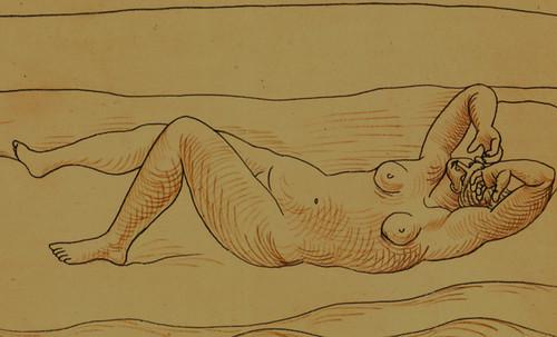 """Genealogía de las Soñantes, versiones de Lucas Cranach el Viejo (1534), Giorgione (1510), Tiziano Vecellio (1524), Nicolas Poussin (1625), Jean Auguste Ingres (1864), Amadeo Modigliani (1919), Pablo Picasso (1920), (1954), (1955), (1961). • <a style=""""font-size:0.8em;"""" href=""""http://www.flickr.com/photos/30735181@N00/8747945474/"""" target=""""_blank"""">View on Flickr</a>"""