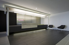 Saputo Reception 2 (interprisedesign) Tags: modern design office interior lobby business signage interiordesign conferenceroom receptionarea saputo interprise