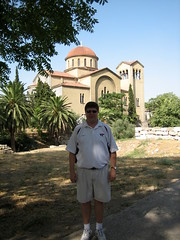 058 - Scott & Church (Scott Shetrone) Tags: family people other graveyards events churches places athens greece 5th kerameikos anniversaries scottshetrone