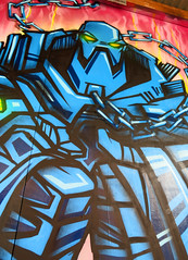 Snub23 (cocabeenslinky) Tags: street uk blue england urban streetart art festival by canon bristol children photography graffiti robot artist gallery grafitti power shot photos graf united north arts may kingdom powershot bedminster national alcohol 23 graff association artiste affected posca bs3 snub g15 upfest 2013 snub23 nacoa cocabeenslinky