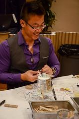 After Dark: Zo Keating (The Tinkering Studio) Tags: making exploratorium afterdark tinkering zoekeating 2013 tinkeringstudio scribblingmachines