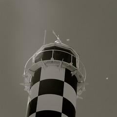 Lighthouse Bunbury (Christine Amherd) Tags: blackandwhite bw lighthouse black creativity blackwhite australia sw australien ine schwarzweiss schwarz leuchtturm westaustralia passionate bunbury mypassion schwarzundweiss christinescreativityphotography christinesphotography