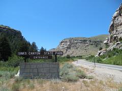 Sinks Canyon State Park (jimmywayne) Tags: statepark river wyoming sinks lander fremontcounty sinkscanyon popoagieriver