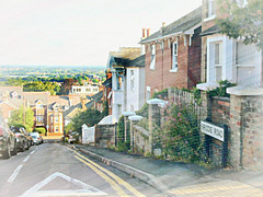 Brodie Road.. from the top.. looking down .. * (John(cardwellpix)) Tags: saturday23rdjuly2016fromthetopofbrodieroadguildford surrey uk