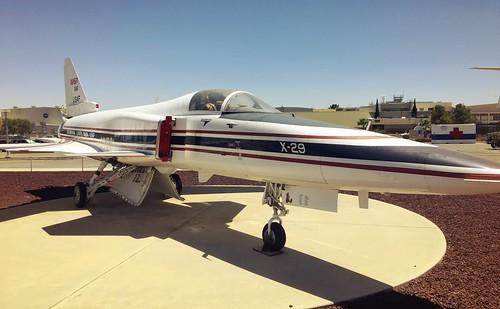 Grumman X-29, Edwards AFB, CA