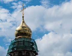Symbol of Faith (FromMoscowWithLove) Tags: moscow russia blue sky summer religy architecture