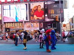 Times Square (Robbie1) Tags: costumes newyorkcity timessquare