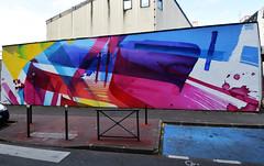 MADC (HBA_JIJO) Tags: streetart urban graffiti vitry vitrysurseine art france hbajijo wall mur painting abstrait peinture paris94 spray abstract postgraffiti abstraction madc muralisme color