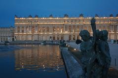 Chteau de Versailles (theMisterNL) Tags: versailles chteau chteaudeversailles chateaudeversailles night summer water