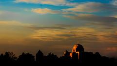 Meridian LDS Temple 2 (Matt Barlow Photography) Tags: temple boise meridian mormon lds thechurchofjesuschristoflatterdaysaints moroni angel sunset light