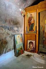 . .      ,   (Eleanna Kounoupa) Tags:     greece crete rethymnon akoumia church    icons  hagiographies paintings frescoes