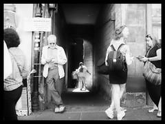 Christ up a close (alanpeu1) Tags: mamiya645 1000s fp4 analogue film 120 6x45 highstreet royalmile edinburgh festival borthwicksclose
