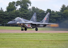 MiG 29A (Steve G Wright) Tags: riat mig mig29 fairford aircraft airshow airdisplay display flyingdisplay jetaircraft jet polish