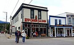 Rowdy little corner in Skagway Alaska (JLS Photography - Alaska) Tags: alaska skagwayalaska skagway red onion saloonjls photography building buildings historic bordello restaurant bar saloon outdoor architecture