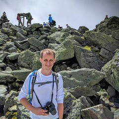 I tamed the beast and conquered the east! Mount Washington down, what's next? #mountwashington #washington #hiking #newhampshire #whitemountains (Keirsteadesigns) Tags: i tamed beast conquered east mount washington down whats next mountwashington hiking newhampshire whitemountains