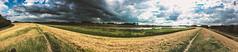 Dike; Leer (FOXTROT ROMEO) Tags: dike deich damm leer nordsee ostsee ostfriesland nordfriesland nord deutschland germany north pano panorama sky clous clouds wolken