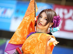 YOSAKOI (Teruhide Tomori) Tags: woman lady people human dance yosakoi festival stage japan japon fukui girl yosakoi