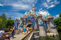 Sparkling Castle (spgoad) Tags: disney disneyland dlr dl sleepingbeautycastle 60th anaheim california