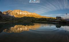 L'alba...Pian del Nel - Valle Orco (Albi Nikon) Tags: lago riflesso magnifico nikon d7200 valle orco ceresole reale italia alba colori stupendi jervis rifugio levanne serenit tranquillit