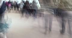 1 second of us [EXPLORED] (stendol [L.B.W.L.]) Tags: 1 second us street mosso motion shot tempo secondo esposizione effetto fantasma life vita ora scatto strada passanti