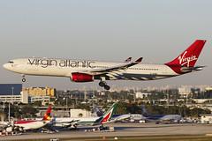 G-VGBR MIA 16.01.2014 (Benjamin Schudel) Tags: kmia mia international airport usa florida virgin atlantic airbus a330300 gvgbr