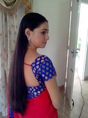 South actress Madhu Chanda Photos Set-1-Hot In Saree (12)