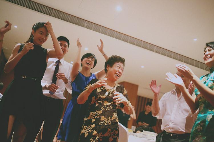 婚禮攝影-阿嬤跳舞