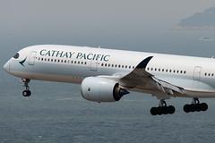 Cathay Pacific A350-900 B-LRC-6014 (CF Yuen) Tags: canon clk cathaypacific cx cpa cathay 100400lii 100400mmf4556lisiiusm 80d airbus a350 a350900 359 blrc vhhh hkg hongkong hk