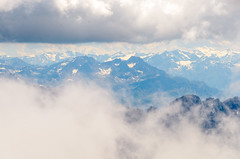 View from the Zugspitze (sillie_R) Tags: austria cloud germany landscape mountain rock snow zugspitze ehrwald tirol