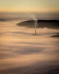 The Icon (Tim Allott) Tags: temperatureinversion landscape sunrise morning hopevalleycementworks fog mist derbyshire mamtor peakdistrictnationalpark september2016 inversion
