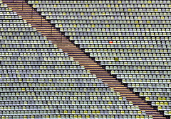 Unique - Einzigartig (explored) (W_von_S) Tags: munich mnchen olympiastadion olympicstadium abstrakt abstract wvons werner outdoor august 2016 muster pattern explored inexplore explore