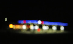 In the Night (Visual Arcana) Tags: abstract blur outoffocus defocused defocus focal night darkness color form light abstraction