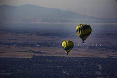 Hot-air balloons (julesnene) Tags: balloonsabovethevalley california canon7dmark2 canon7dmarkii hotairballoon juliasumangil adventure aloft balloon bucketlist julesnene travel up upandaway vacaville unitedstates us