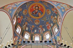 DSC_8504 (AndrewGould) Tags: orthodox dome fresco mural iconography byzantine russian holy ascension