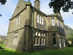The local Youth Hostel is a bit fancy (waldopepper) Tags: haworth westyorkshire yha youthhostel