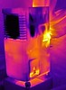 Portable aircon thermal image (Ultrapurple) Tags: aircon airconditioner thermal thermapp thermalimage lwir heat cool cooling portable humid dehumidifier water air summer uk england thermalimager android experiment experimental hot invisible microbolometer infrared thermalcamera thermogram thermograph thermographic warm warmth science scientific temperature weird weirdscience cold nightvision greyscale uncooled imager 8bit