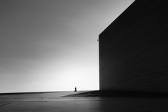(Svein Nordrum) Tags: opera architecture bw noir nero silhouette operaen shadow light perspective lines explore