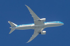 """KLM Royal Dutch Airlines Boeing 787-9 Dreamliner """"Hibiscus"""" PH-BHF (pointnshoot) Tags: canonef500mmf4lisiiusm klmroyaldutchairlines b789 dreamliner hibiscus phbhf boeing787 klm royaldutchairlines"""