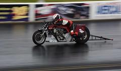 Old School Drag Bike (Fast an' Bulbous) Tags: drag race bike motorcycle moto fast speed acceleration santa pod england biker rider nikon d7100 gimp outdoor