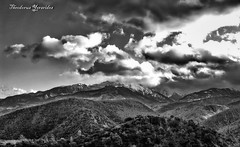 Olympus mt. another view (2) (teogera) Tags: olympus c5050z hellas greece macedonia pieria foteina bw ngc outstandingshots
