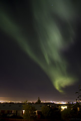 Aurora borealis over Reykjavik 28.september 2016. (sgeir var) Tags: aurora borealis reykjavik iceland canon 550d t2i norurljs northern lights