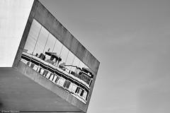 Rom  MAXXI 1 b&w (rainerneumann831) Tags: abstrakt architektur blackwhite gebude linien maxxi museum rom