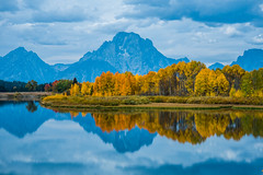 Fall Morning - Mt. Moran and Snake River Oxbow.jpg (JLA3 Photography) Tags: autumn usa landscapes grandtetonnationalpark wyoming