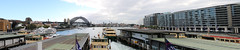 Sydney Harbour - Circular Quay (lukedrich_photography) Tags: australia oz commonwealth        newsouthwales nsw canon t6i canont6i history culture sydney       metro city circularquay circular quay harbour cbd centralbusinessdistrict transport ferry bridge boat panorama pano overlook skyline viewpoint water ship architecture site tourist