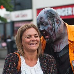 Bite Size (the underlord) Tags: zombiewalk zombie charity bite helpforheroes