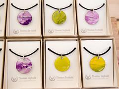 Necklaces by Thomas Seybold (marketkim) Tags: product eugene oregon saturdaymarket festival artfair eugenesaturdaymarket artfestival